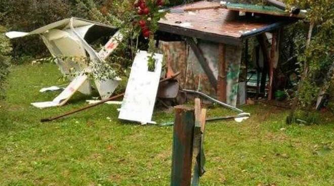 Franciacorta furia vandalica contro i capanni da Cazzago a Borgonato