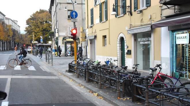 nuove rastrelliere Brescia