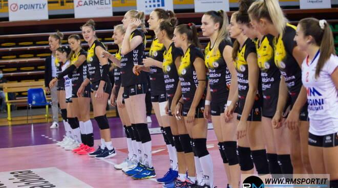 volley millenium Brescia a Novara