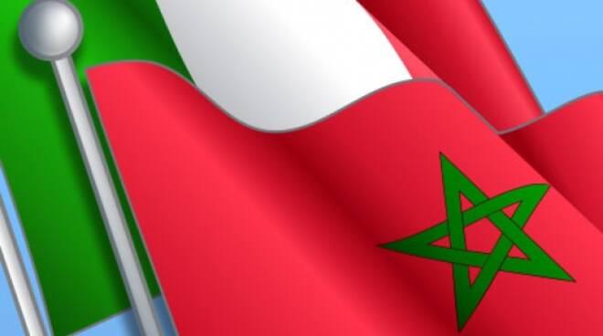 bandiera italia-marocco