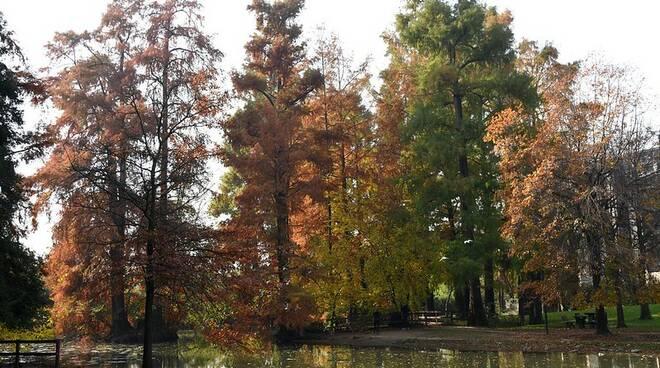 Brescia, autunno nei parchi della città
