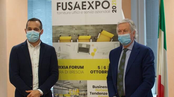 Presentata in Camera di Commercio di Brescia FUSA Expo, la prima ed unica fiera nazionale B2B dedicata alle forniture per uffici ed ai servizi aziendali