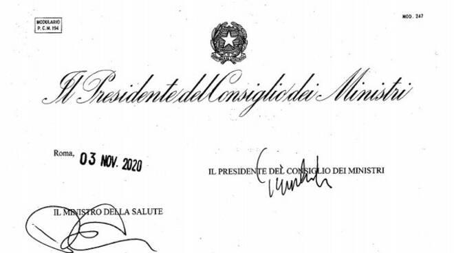 Conte ha firmato nella notte il nuovo Dpcm in vigore da domani