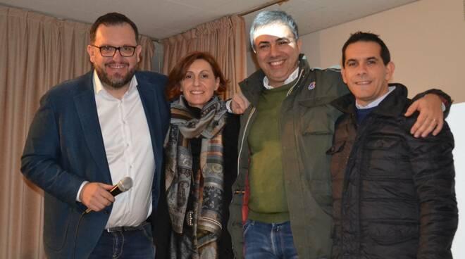 direttivo Fondazione Dodo: da sx Marcello Melda, Barbara Loda (presidentessa), Andrea Laudini e Livio Gallina