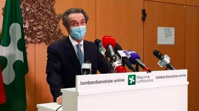 Lombardia diventa arancione verso ordinanza ad hoc di Fontana