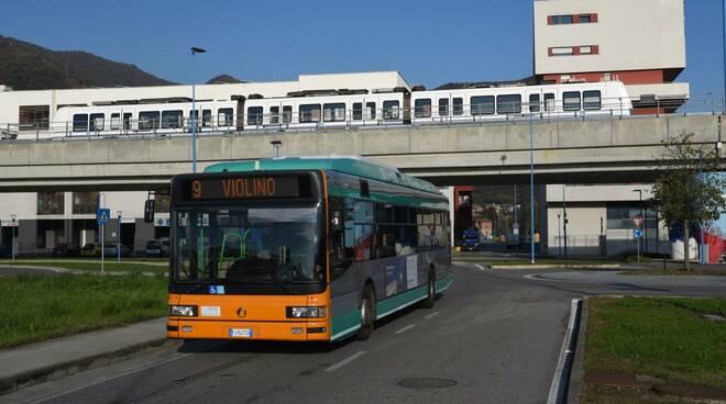 metropolitana metrobus Brescia