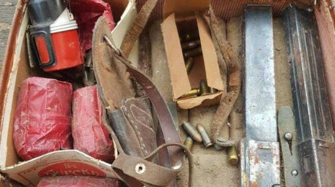 Rezzato brillate in cava bombe trovate in una villa a Sant Eufemia
