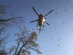 Sarezzo cade dalla bicicletta in montagna 29enne soccorso in volo