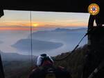 Soccorso alpino a Sale Marasino