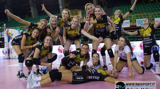 volley millenium Brescia batte Zanetti Bergamo
