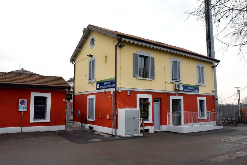 Borgo San Giacomo stazione Trenord