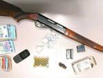 Brescia pusher nei guai cocaina 7 mila euro e un fucile da caccia