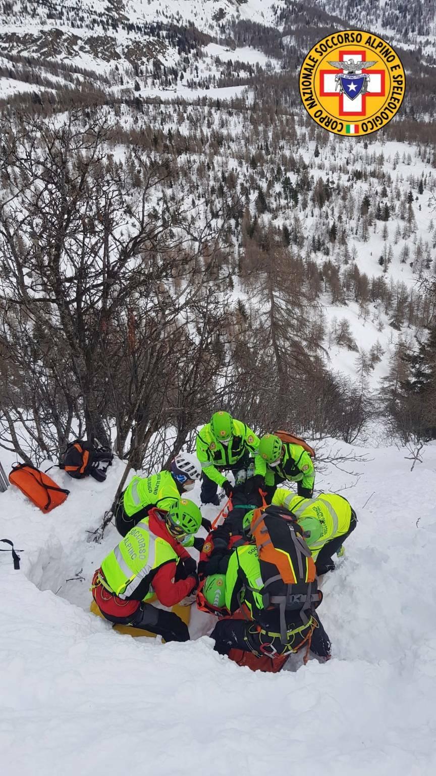 Cnsas soccorso alpino valanghe