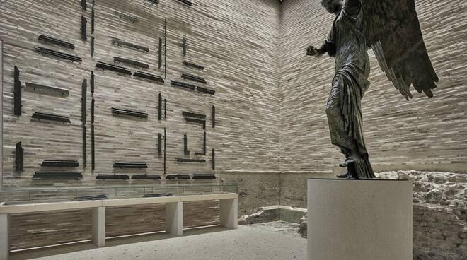 La bellezza della Vittoria Alata, una perla per Brescia Musei
