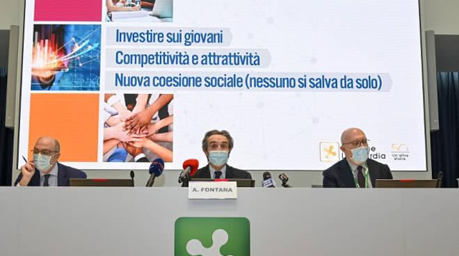 Lombardia chiude il 2020 e apre il 2021 lotta al virus e ripartenza