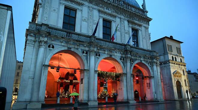 Palazzo Loggia Brescia Natale 2020