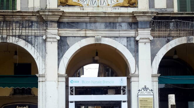 Piazza Loggia gazebo A2A