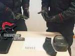 Rovato carabinieri fermano auto a bordo una Beretta rubata
