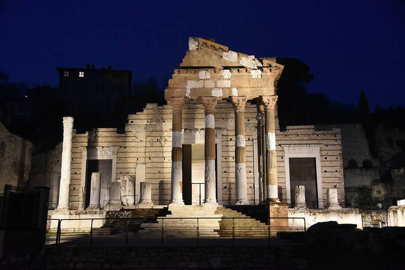Tempio Capitolino Capitolium Brescia