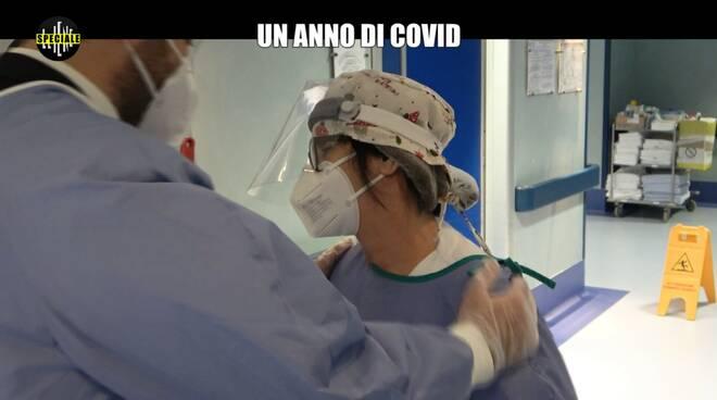 """""""Un anno di Covid"""", le Iene visitano la Poliambulanza di Brescia"""