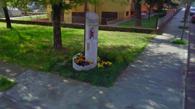 Verolanuova statua della Madonna al Sacro Cuore vandalizzata