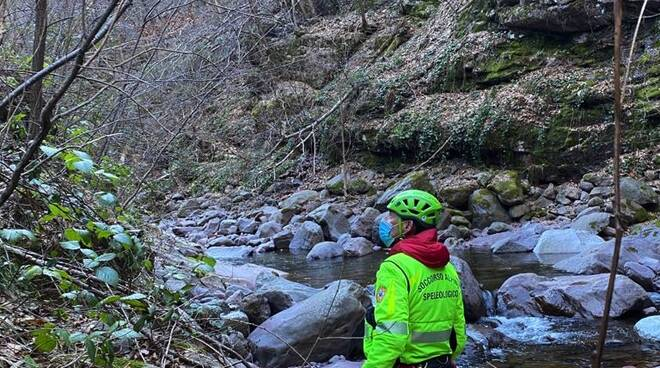 Bienno torrente Grigna soccorso alpino ricerche Cnsas