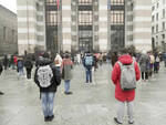 Brescia in piazza contro la didattica a distanza Studenti Siamo stanchi