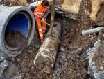 Brescia negli scavi di A2a sotto via Milano emergono reperti romani