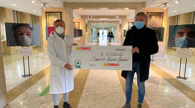 conad supporto psicologico spedali civili di Brescia