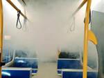 Coronavirus e tpl a Brescia bus e metro sanificati con una nebbia