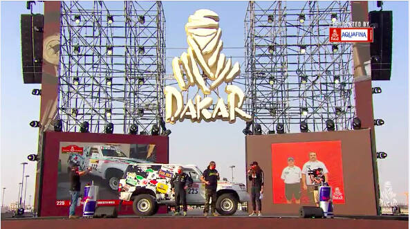 Dakar Angelo Caffi Corse