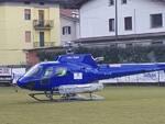 elicottero di regione lombardia a Bienno