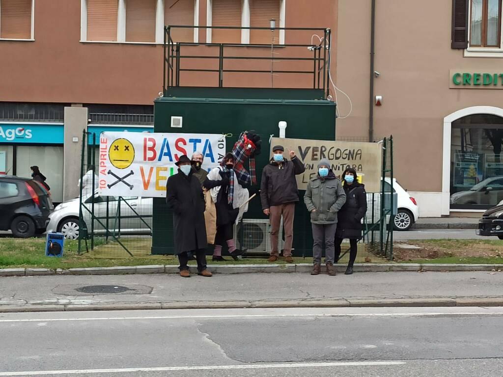 """""""flash smog"""" di Basta Veleni Brescia"""