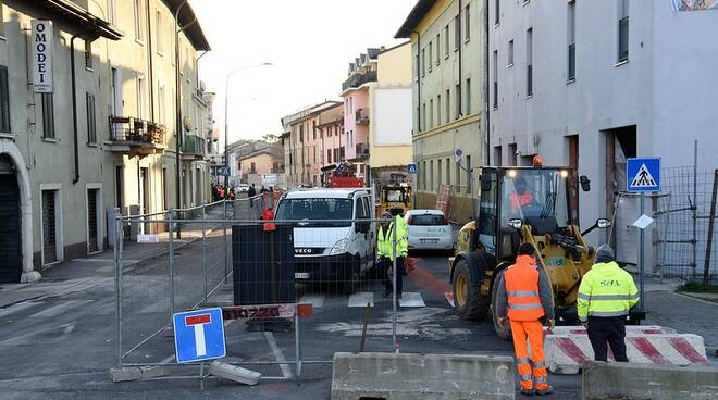 Lavori Brescia Via Milano