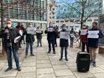 Lombardia Sanità M5S Flash Mob 8 gennaio 2021