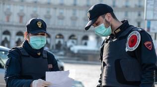 polizia controlli coronavirus covid