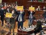 Protesta M5S Regione Lombardia 26-1-21