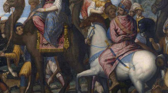 Regina Saba Pietro Marone Pinacoteca Brescia