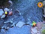 Soccorso Alpino Cnsas ricerche torrente Grigna