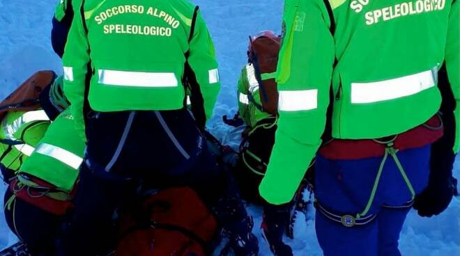 soccorso alpino valanghe Mortirolo