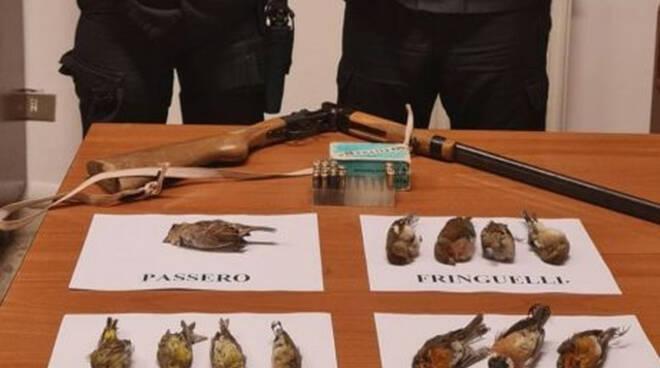 Verolanuova va a caccia ma non ha il porto armi denunciato
