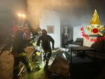 Brescia incendio Alfa Acciai Rogo da una delle cabine elettriche