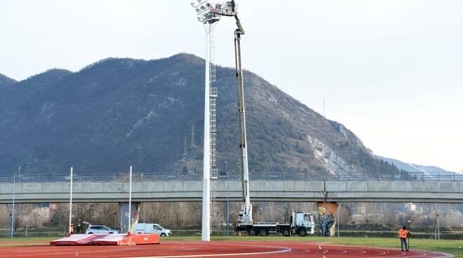 campo di atletica a sanpolino