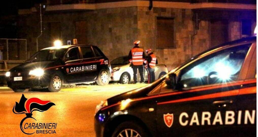 carabinieri in incidente a nuvolera