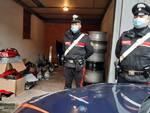 carabinieri Ricambi rifiuti Capriano
