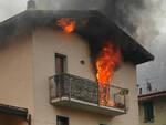 Darfo 13enne riesce a scappare da appartamento in fiamme