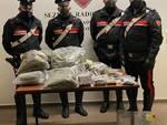 hashish e marijuana sequestrata a coccaglio