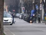 incidente brescia viale italia 21  febbraio 2021