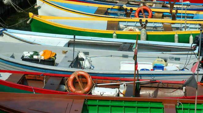 pescatori lago barche garda
