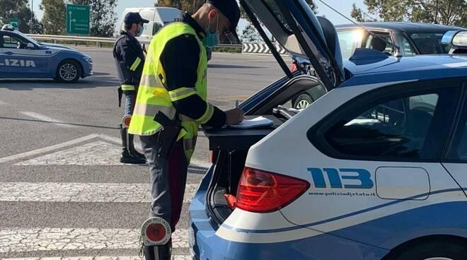 polizia stradale controlli